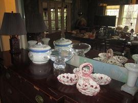 Crystal bowl Baccarat