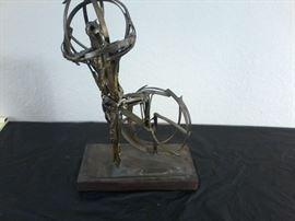 Bronze Statue, P. Peltison      http://www.ctonlineauctions.com/detail.asp?id=704320