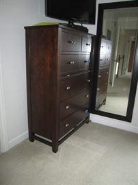 High part of queen bedroomset