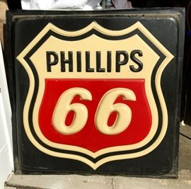 4'x4' Phillips 66 Plastic sign