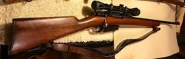 Model 1891 Argentina Mauser manufactured in Berlin German stamped in barrel w Tasco 7x50 scope. 7.65 Argentine  this is an excellent Battle rifle in excellent shape-all matching numbers-article of History at more than fair price.