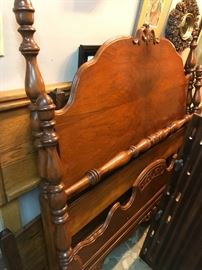 Matching Full Size Bedframe - Antique