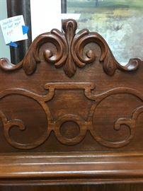 Wood Detail on Dresser