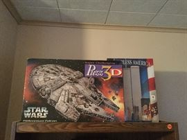 Star Wars 3d Puzzle and others new in box