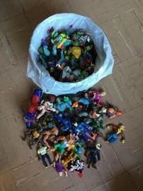 1990s Ninja Turtle Figures