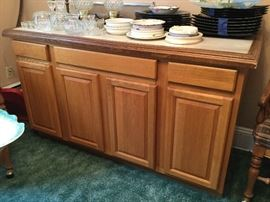 Serving Cabinet Tile Top