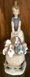 """""""Litter of Fun"""" by Lladro"""