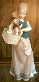 """""""Little Dogs on Hip"""" by Lladro"""