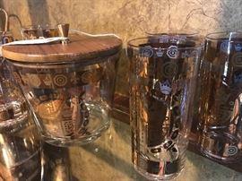 Mid-century barware by Bari.