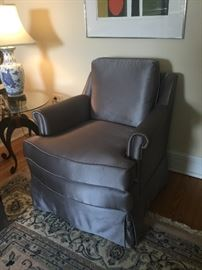 Pair of beautiful slate arm chairs, like new! $375 each