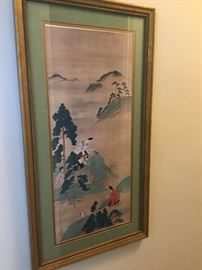 Pair of Asian prints $200 each