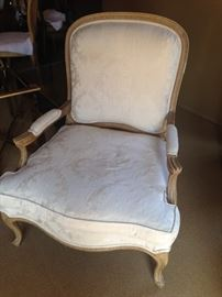 •Pair of Drexel Heritage French style armchairs—BUY IT NOW--$550—sophia.dubrul@gmail.com