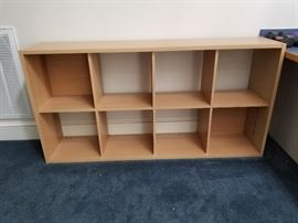 We have 2 of these wonderful sturdy book cases available for purchase.