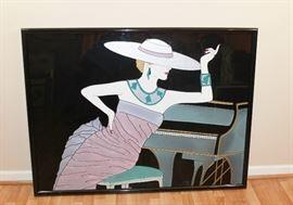 Piano Lady by Fara Zareey