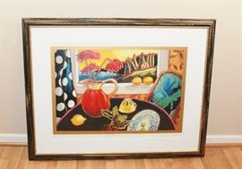 Mary's Table - low numbered and signed from Mike Royko Estate
