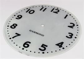 Hammond clock face