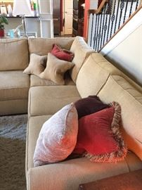 Other side of sectional sofa
