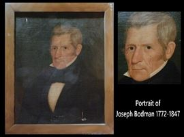 Oil Portrait of Joseph Bodman