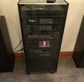 High end Kenwwod stereo system