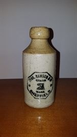 ceramic beer bottle