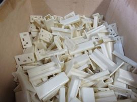 Lot of Plastic Cabinet Hardware