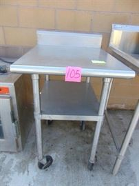 Heavy Duty Stainless Steel Work Table