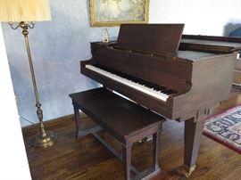Vose & Son Baby Grand Piano