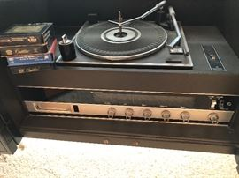 This Magnavox plays records, radio and eight tracks!