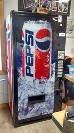 Pepsi Machine - works