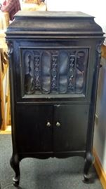 Victrola Record Player Cabinet