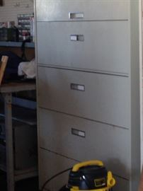 5 drawer storage cabinet