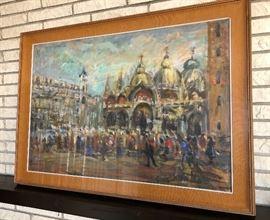 "Original Guidotti Oil Painting on Canvas 26""x 38"""