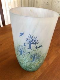 "Kosta Boda 9"" Art Glass Vase"