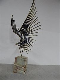 Curtis Jere Eagle in Flight Sculpture