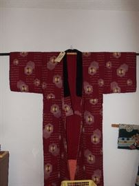 JAPANESE KIMON0, ONE OF MANY IN THIS COLLECTION.