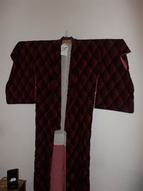 JAPANESE KIMONO, ONE OF ASSORTED KIMONOS