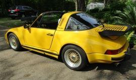 1977 Porsche Targa 911                                     $45,000 VIN# 9117311365 101,000 miles/Excellent condition   Front end custom built (slanted)LeMans style made of steel (not figerglass)
