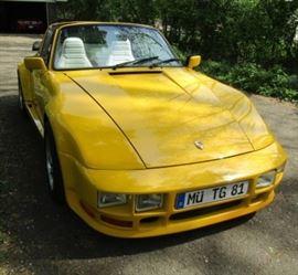 1977 Porsche Targa 911                                     $39,000 VIN# 9117311365 101,000 miles/Excellent condition  Front end custom built (slanted)LeMans style made of steel (not figerglass)