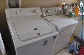 Maytag Washer & Whirlpool Electric Dryer