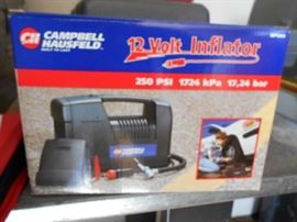 Campbell Hausfeld 12v auto tire inflator