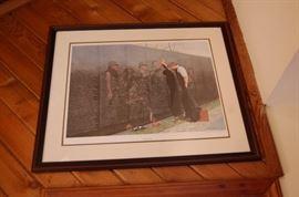 Thomas Kincaid and William Mangum Signed Prints