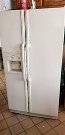 Whirlpool Side by Side Fridge with in the door water dispenser