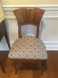 Pair antique c. 1850's side chairs