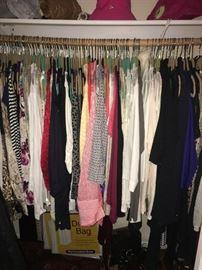 Shirts, pants, business wear, skirts, dresses
