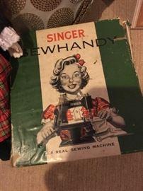 Vintage Singer SewHandy sewing machine