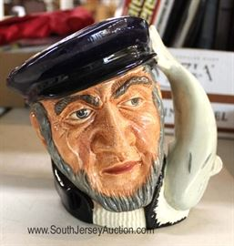 "SELECTION of Toby Mugs by ""Royal Doulton"" Located Inside - Auction Estimate $20-$80"