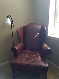 Leather chair - Smith & Gaines