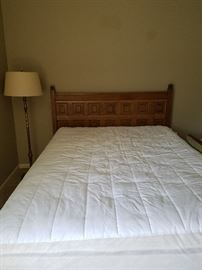 Vintage bed with Serta Matress set