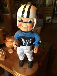 Novelty Titans football player
