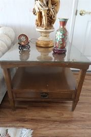Vintage end tables.
